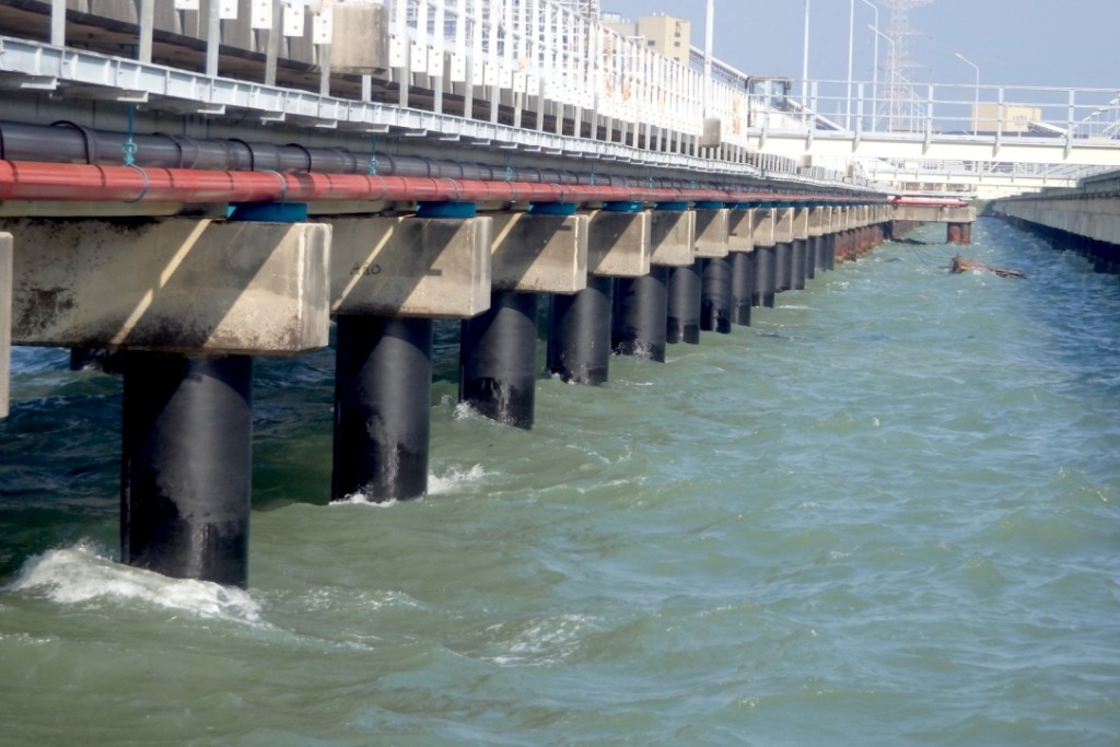 Corrosion Protection Jetty Steel Piles